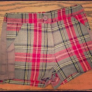 Baby girls warm shorts